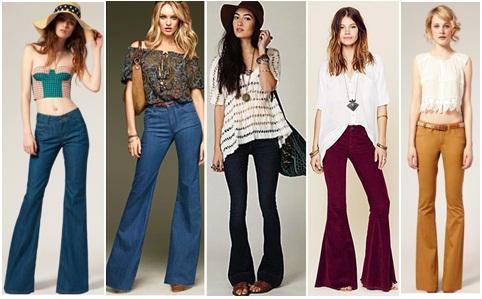 moda-calça-flare-cores-da-moda-modelos-looks-